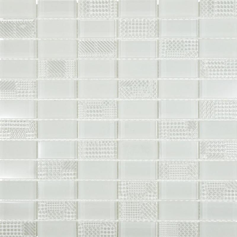 Mosaic Bathroom Tile Samples - Collection In Black And White Ceramic ...